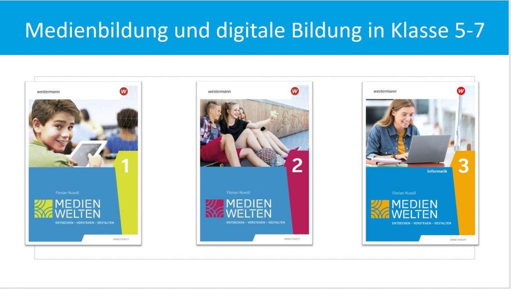 Webinar: Medienbildung und digitale Bildung in Klasse 5-7