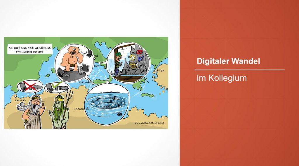Webinar: Digitaler Wandel im Kollegium